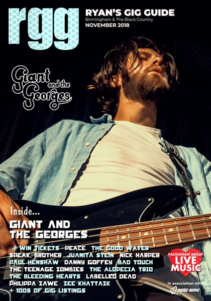 Ryans Gig Guide November issue