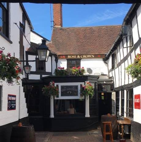 The Rose and Crown  - The oldest pub in Ludlow